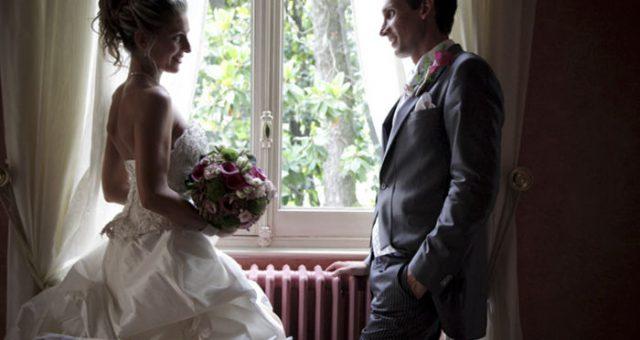 Wedding day in Villa Mattioli